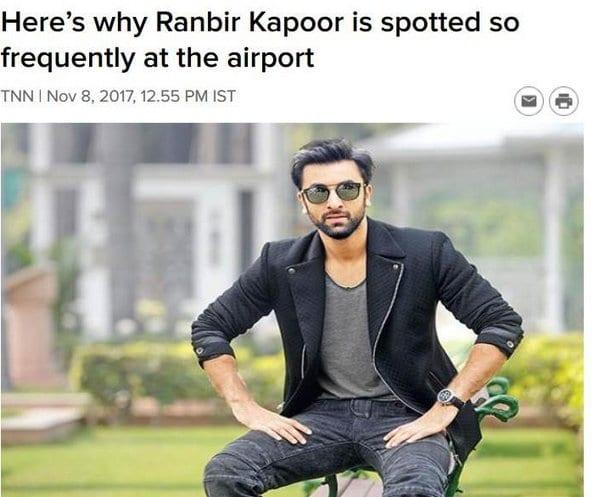 2017 - November - Bollywood Blind Item 2