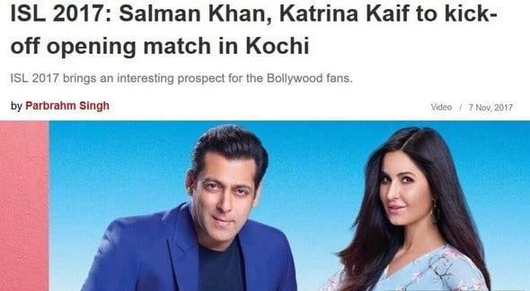 Bollywood Blind Item 2 – November 2017