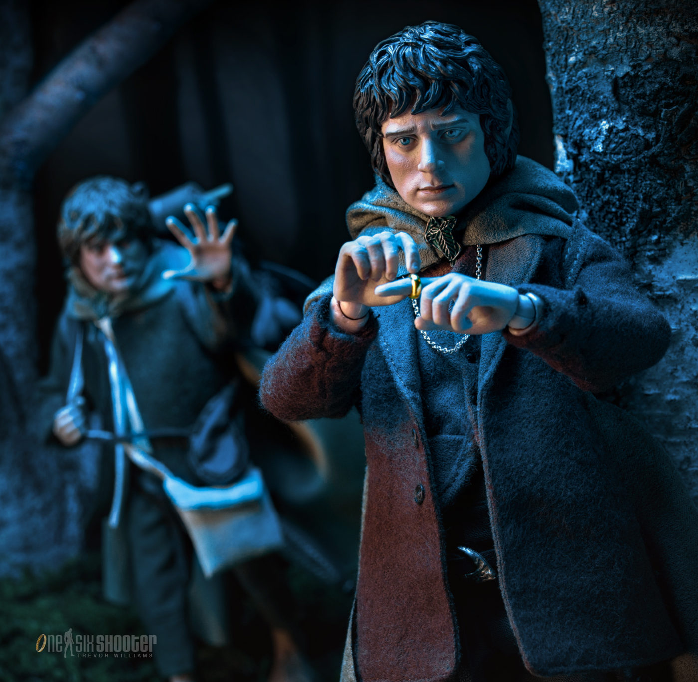Samwise Gamgee and Frodo Baggins