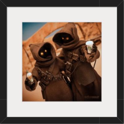 Jawa, Star Wars, 1/6 action figure photography
