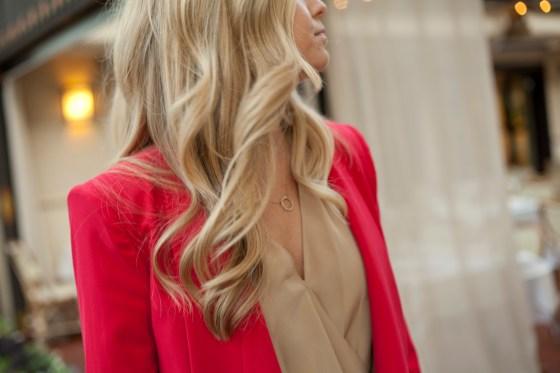 Valentine's day red blazer