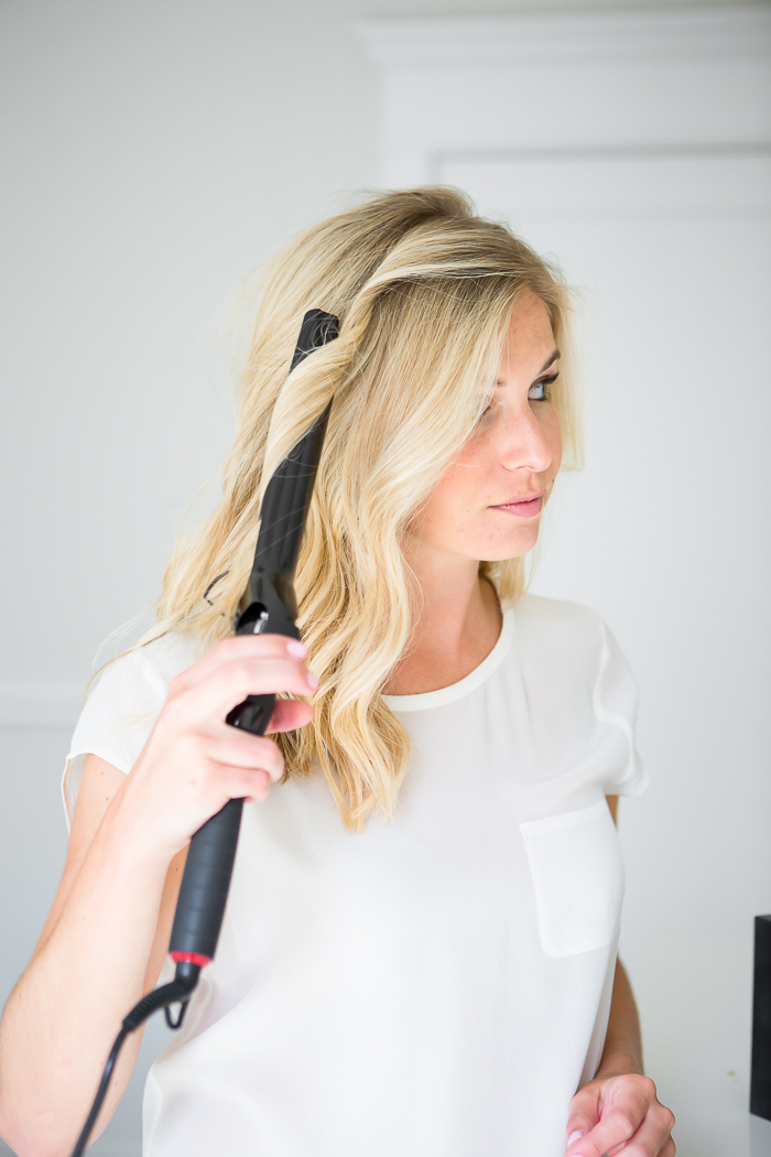 Using A Curling Iron For Beach Waves Lionesse Beauty Bar
