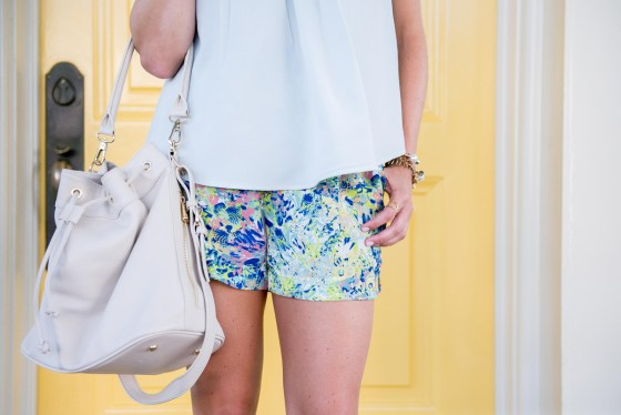 ora delphine bucket bag-floral shorts-harper shorts andb collection-