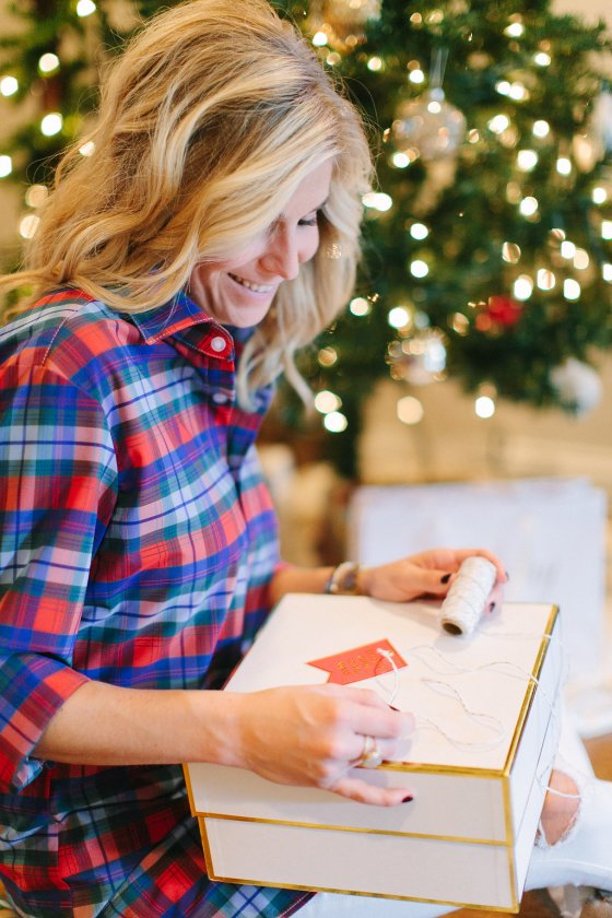 holiday gift idea for him-mizzen and main plaid dress shirt-gift guide for him