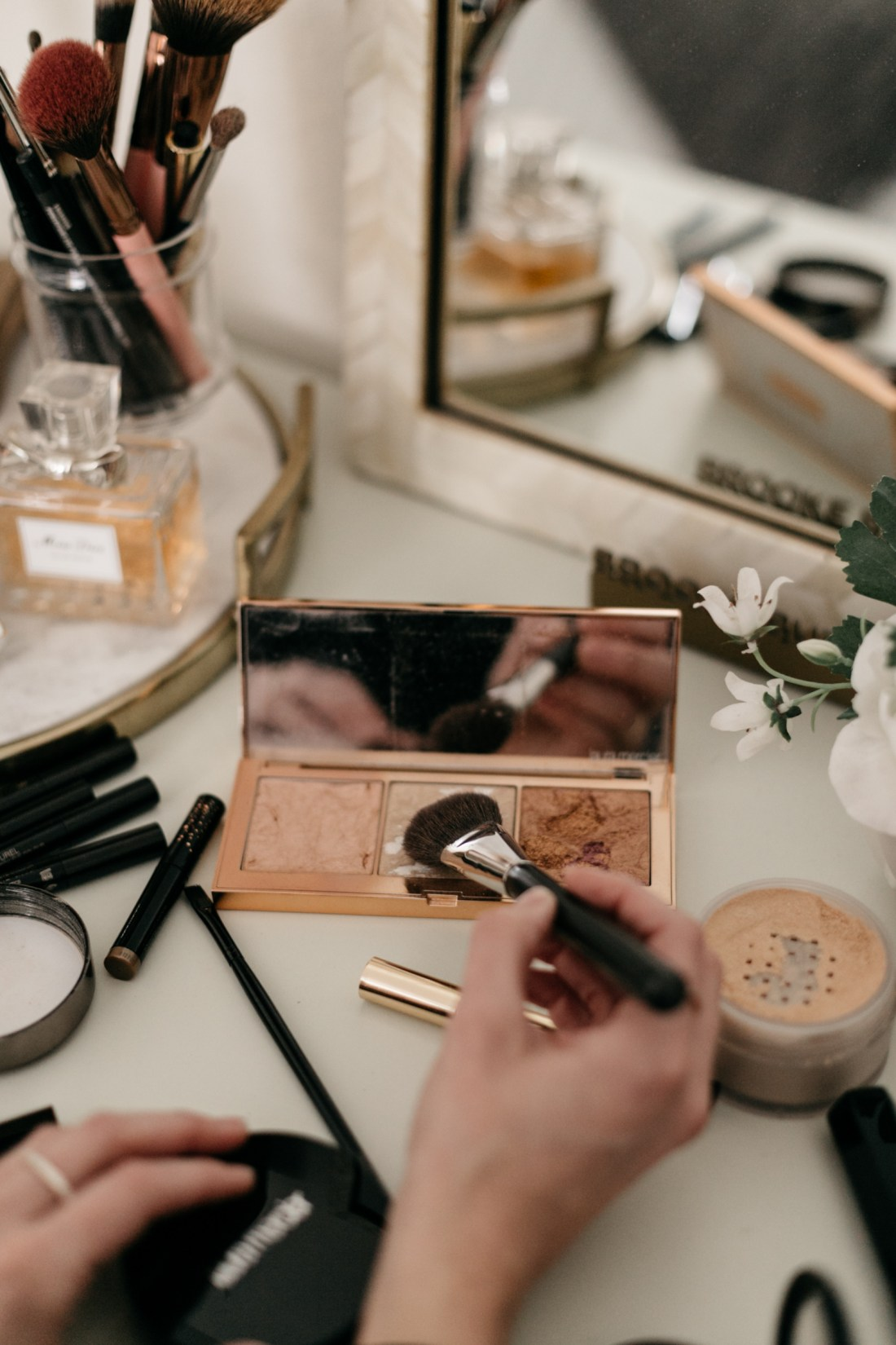 Daily Makeup Routine and Makeup for Oily Skin by Brooke Burnett
