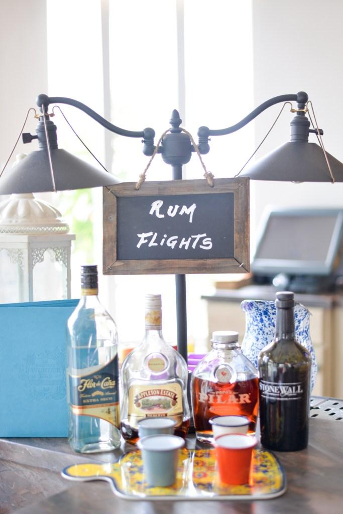 circa39 miami beach hotel wunder bar rum flights