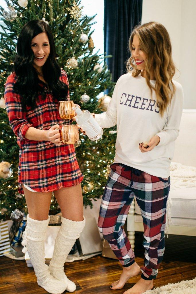 christmas pajama party