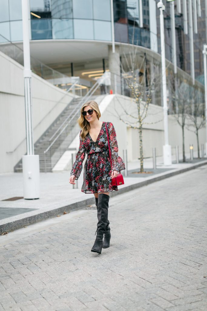 brooke burnett, dallas fashion blogger, valentines day dress