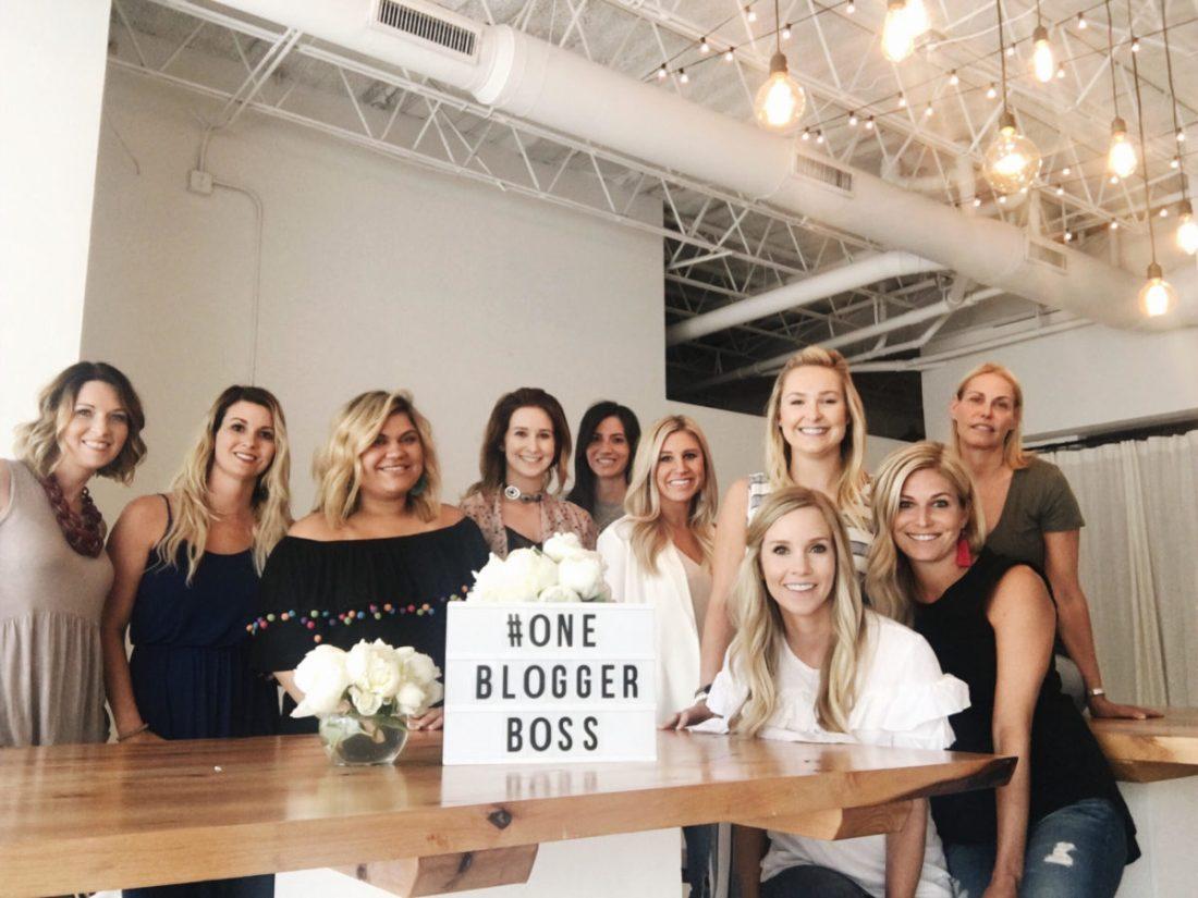 one blogger boss workshop