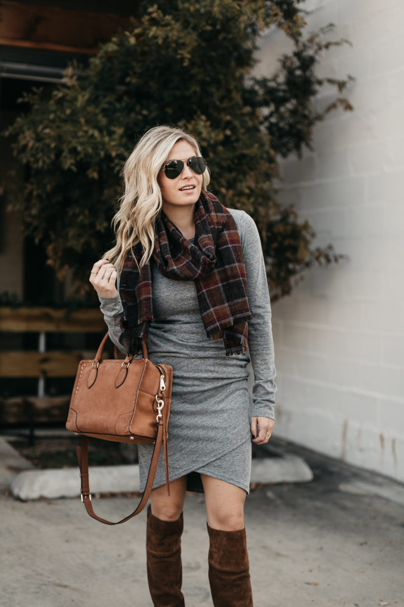 fashion blogger, scarves, boots