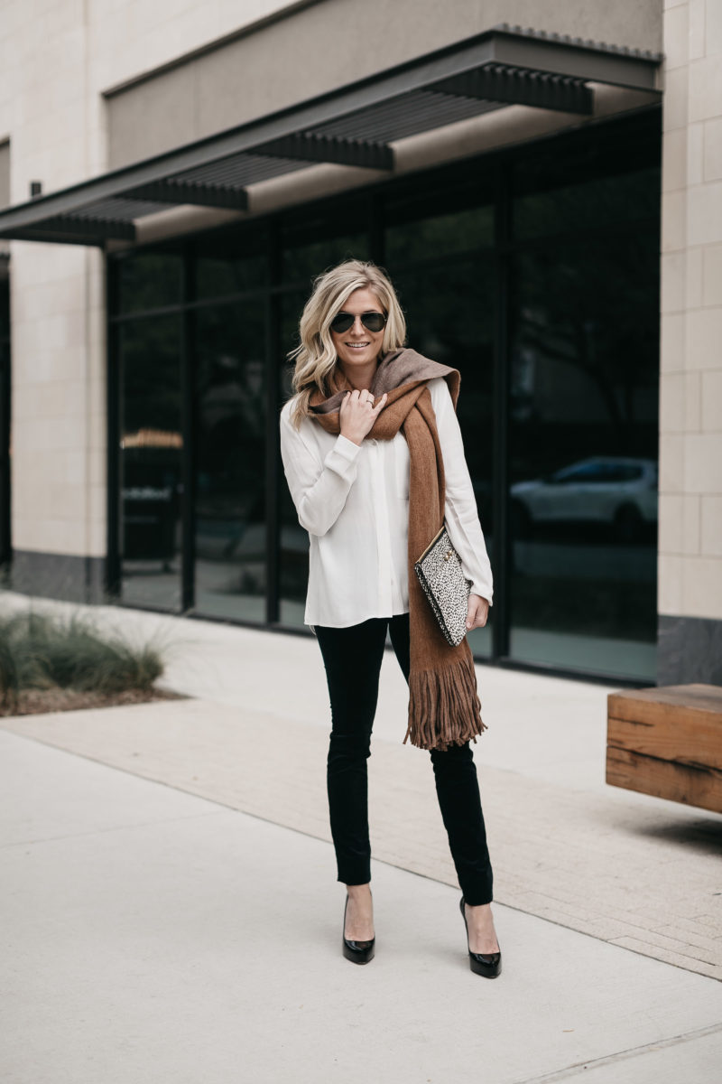 transitional clothes, style blogger, one small blonde