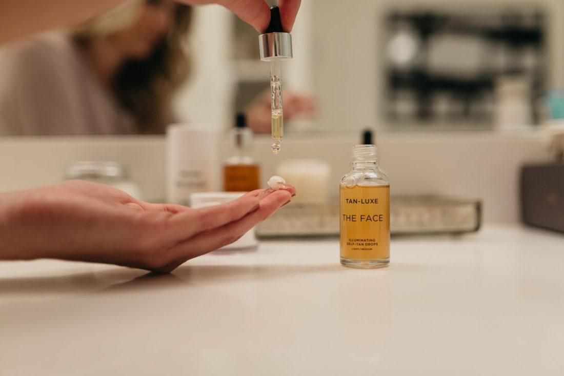 tanning oil, beauty blogger, brooke burnett