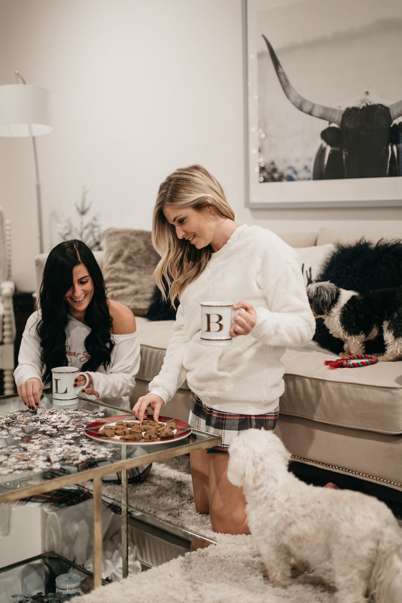 style blogger, Christmas pajamas, holidays