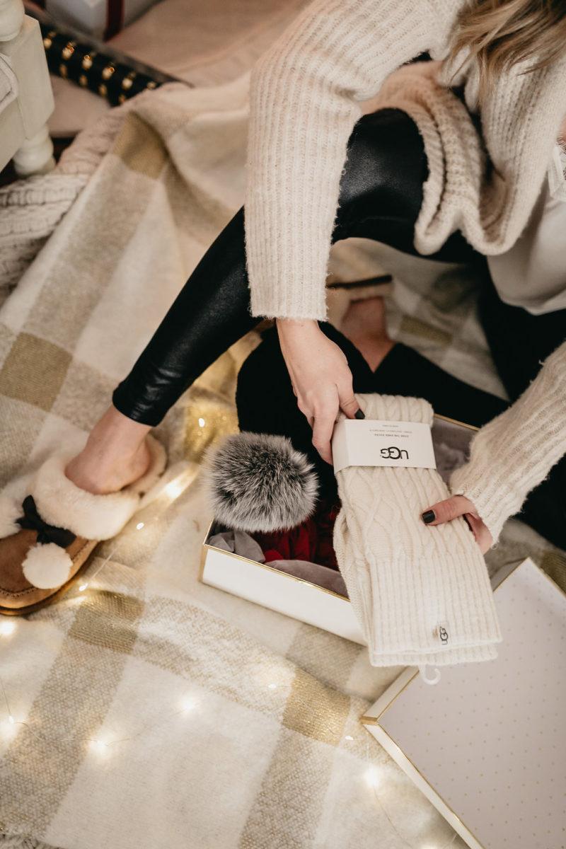 ugg socks, holiday gift ideas, fashion blogger