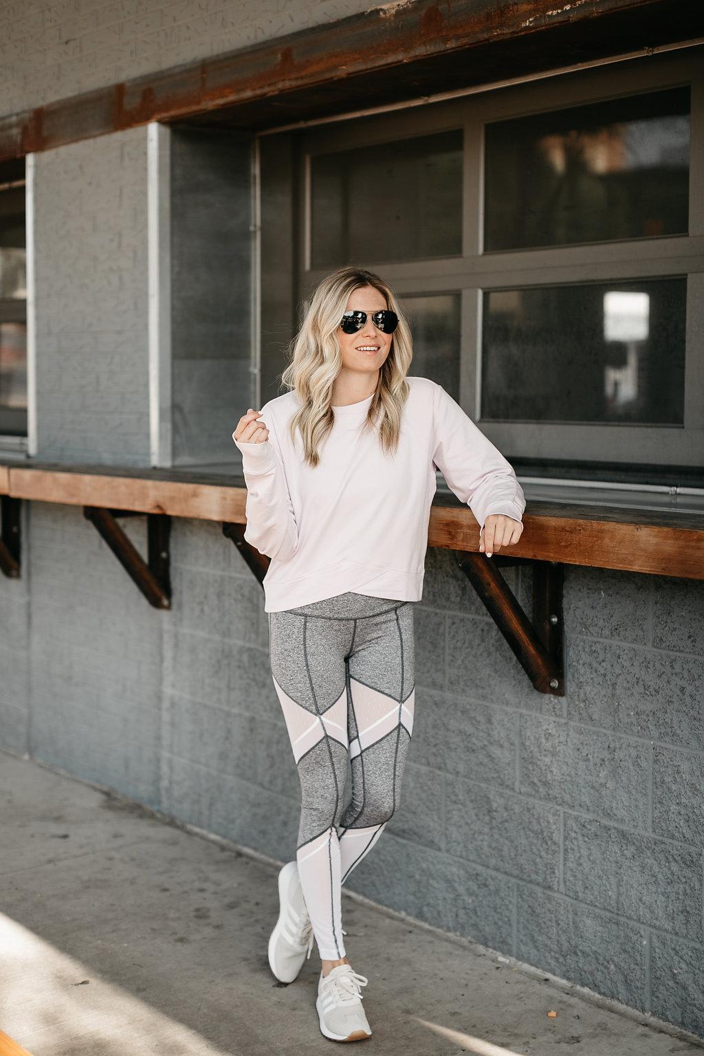 Sun Salutation High Waist Leggings ZELLA - Workout Outfits