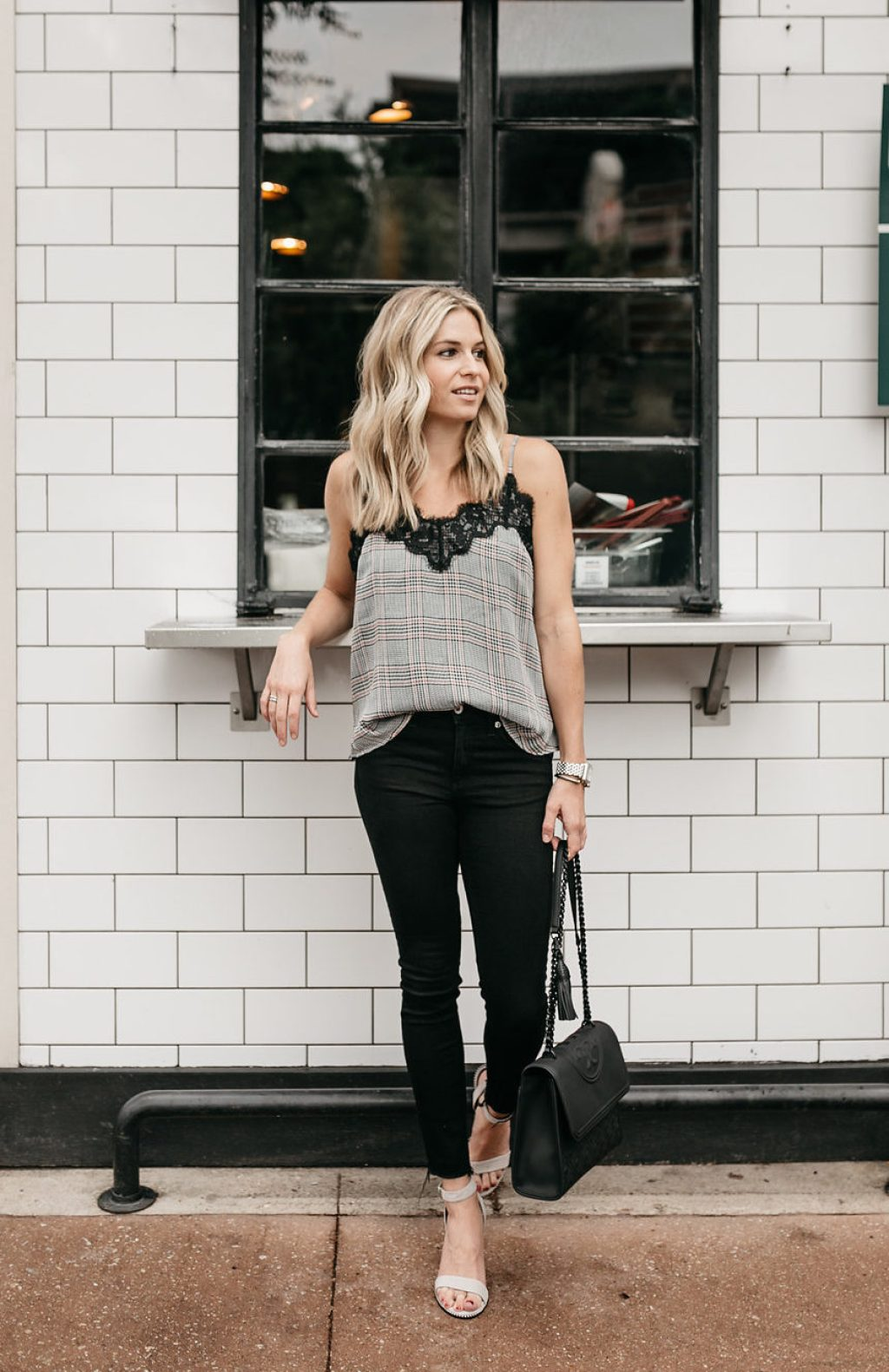 How To Wear Plaid For Fall - One Small Blonde