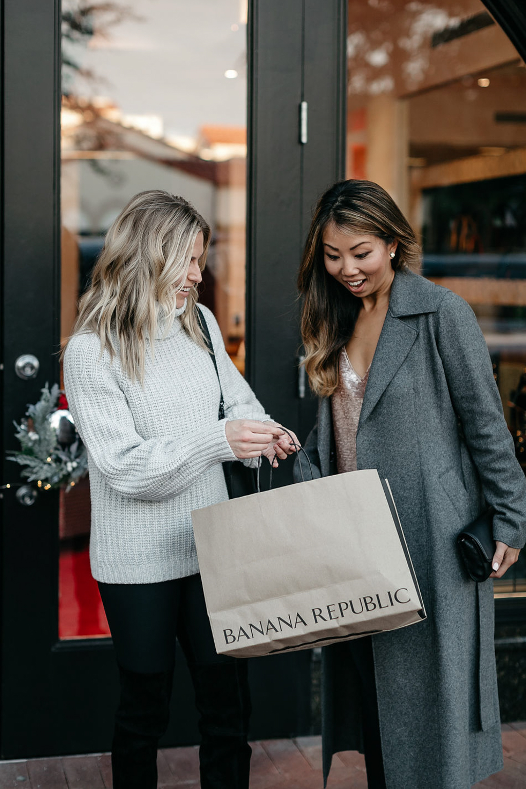 Banana Republic holiday - One Small Blonde