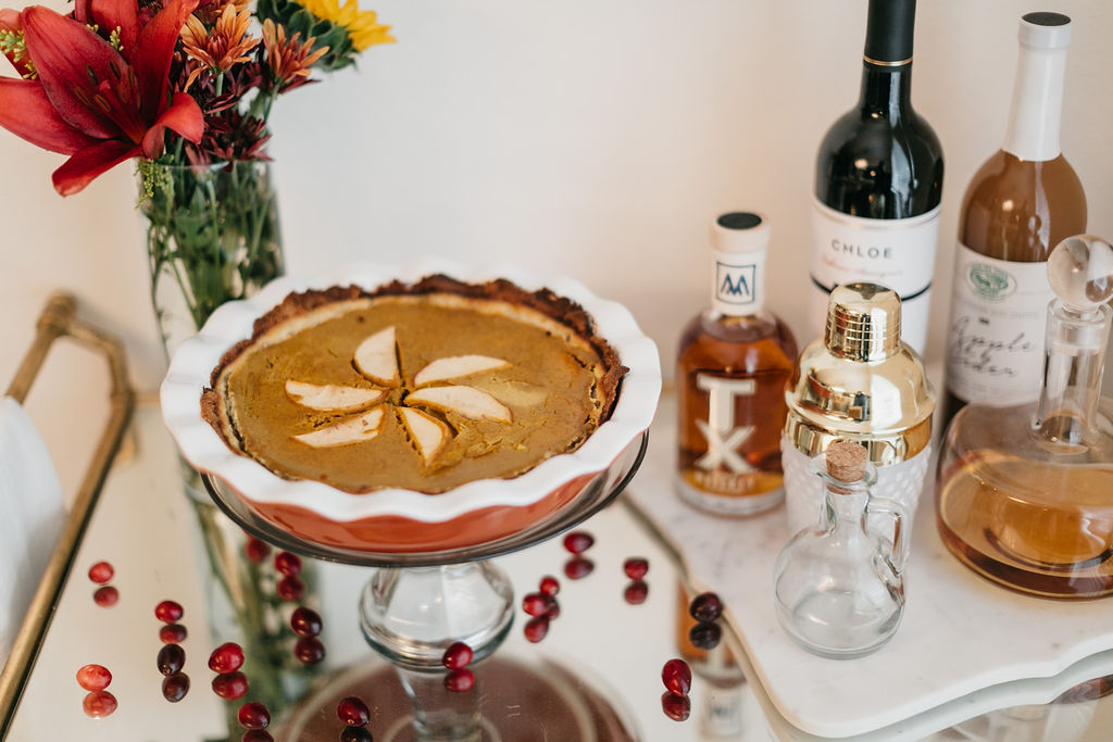 WHOLE30 APPLE PUMPKIN PIE