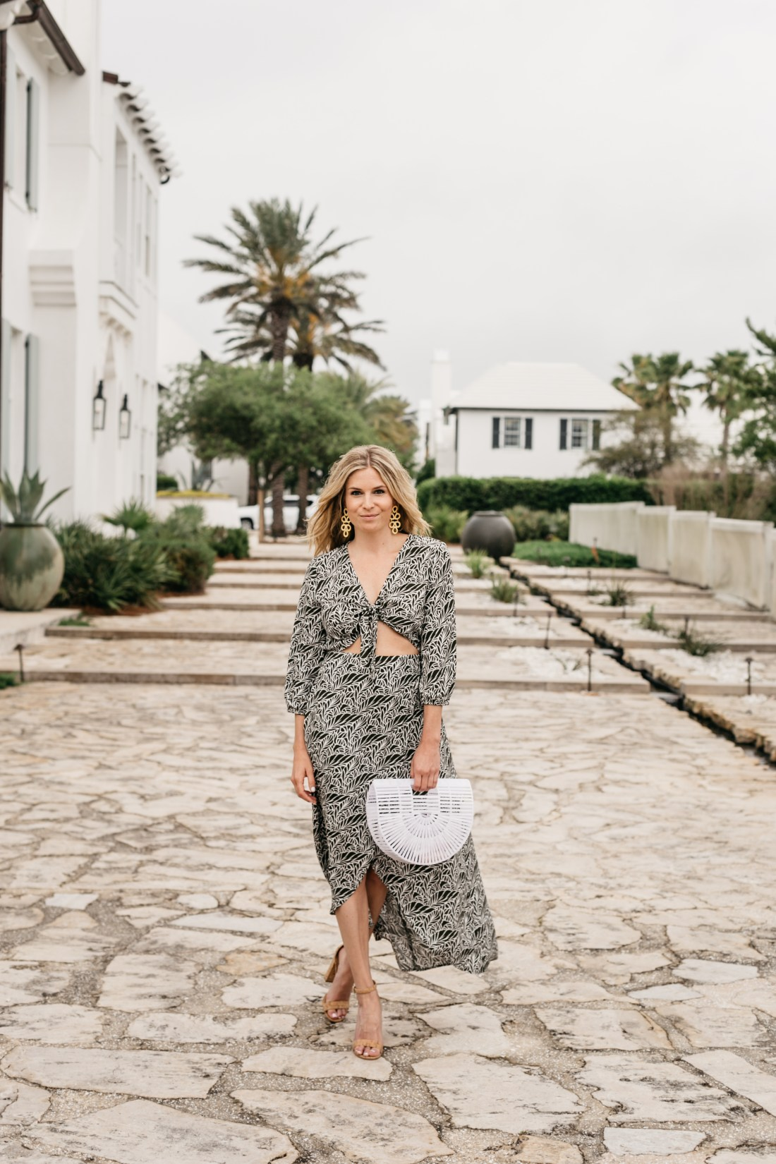 Summer outfit featured at ROSEMARY BEACH 30A