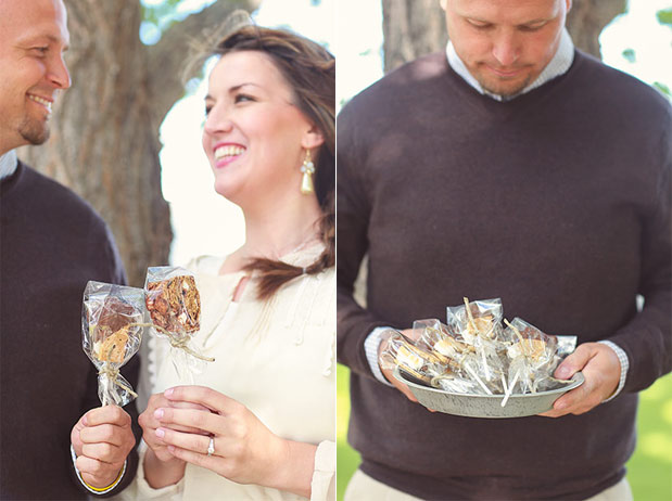 S'mores on a Stick, Two Ways | Christening Favors