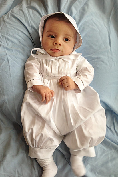 David Christening Outfits for Boys