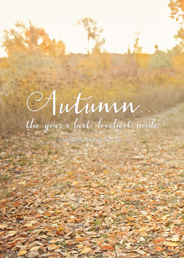 Autumn Printable | One Small Child