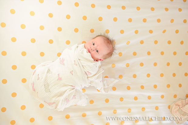 Swaddled Baby | Nellies Nursery - One Small Child