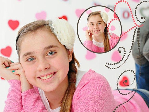 Cute photo valentines ideas by Paisley Studios at www.onesmallchild.com
