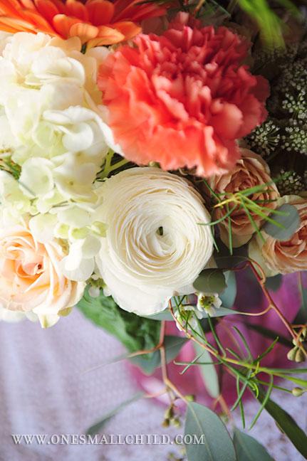 Meg's LDS Baptism | Centerpiece Flowers