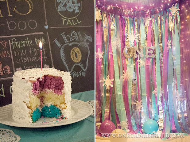 Simple Girls First Birthday Party