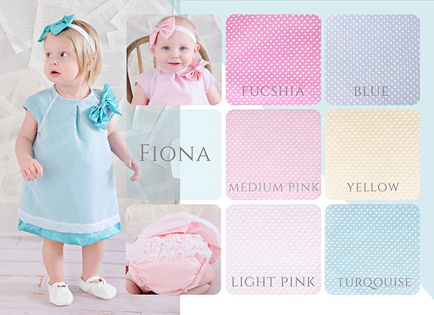 One Small Child Spring Collection 2015 | Fiona Silk A-Line Dress