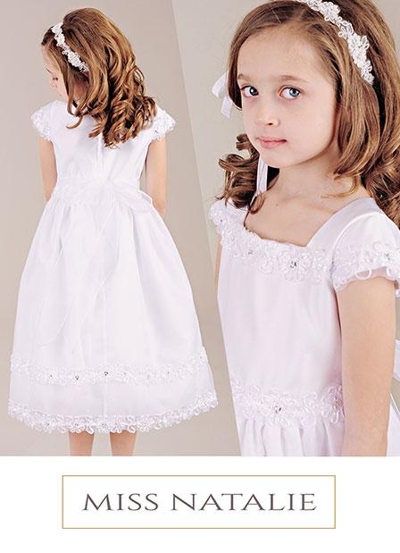 Miss Natalie Communion Dress