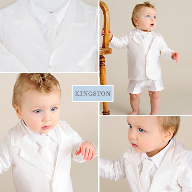 Kingston Boys First Birthday Suit