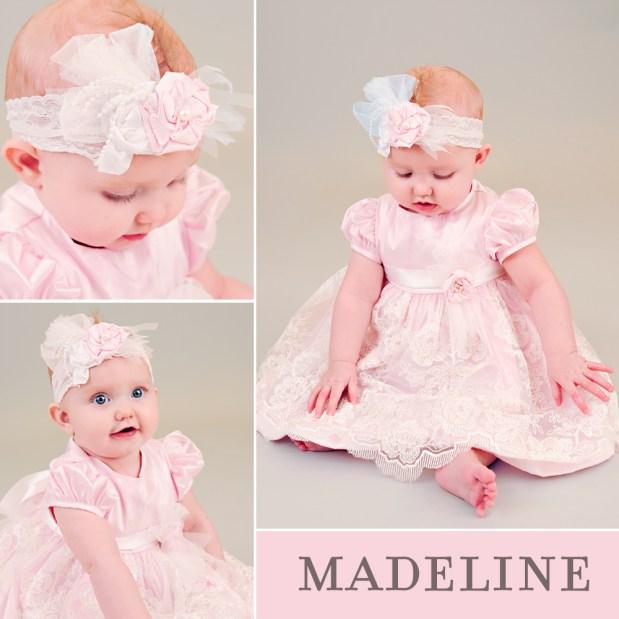 Madeline Pink First Birthday Dress