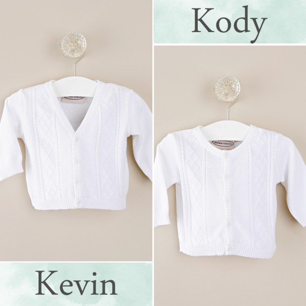 Kevin + Kody Baby Sweaters