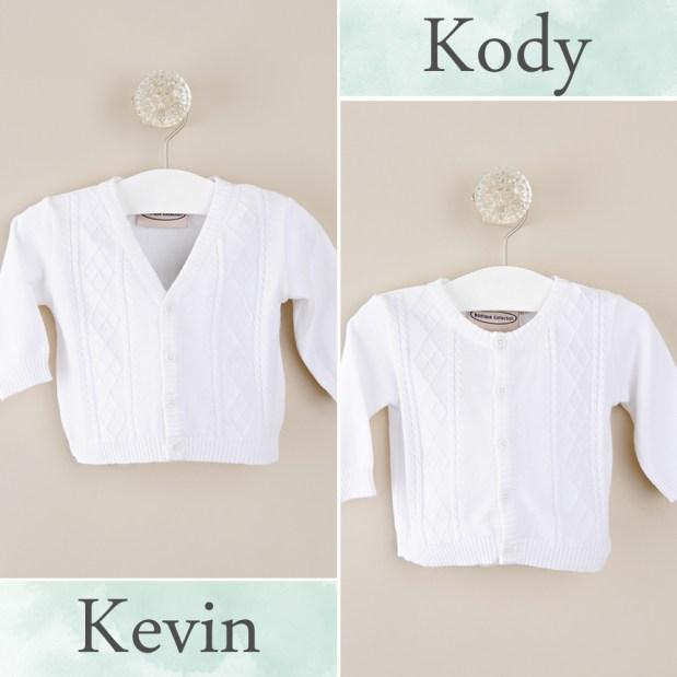 Kevin + Kody Baby Sweaters