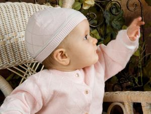 Abbie Knit Layette Outfit