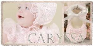 Caryssa Christening Slippers