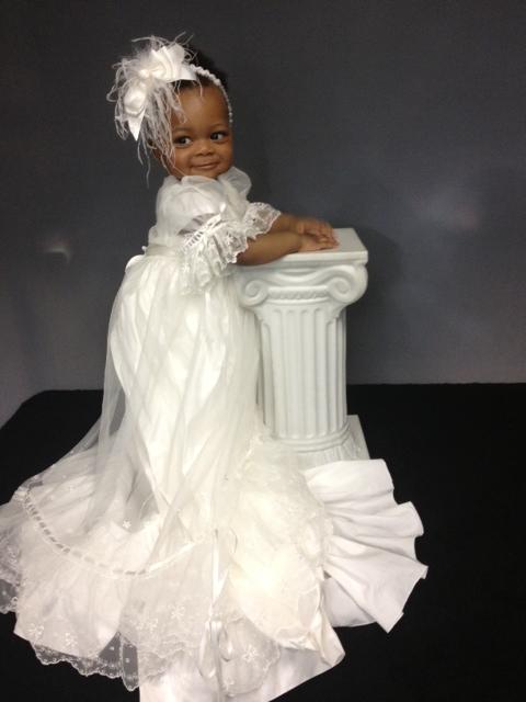 Natalia Christening Gown worn by Stacey