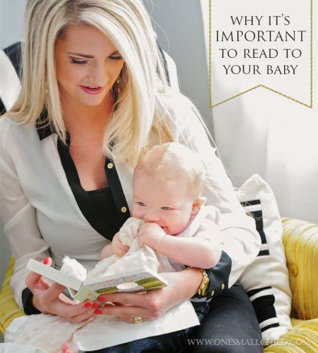 It's important to read to your baby! Books for Babies at One Small Child