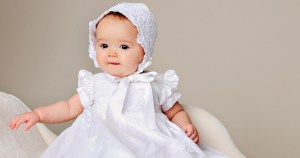 Beautiful Christening Gowns for baby at One Small Child