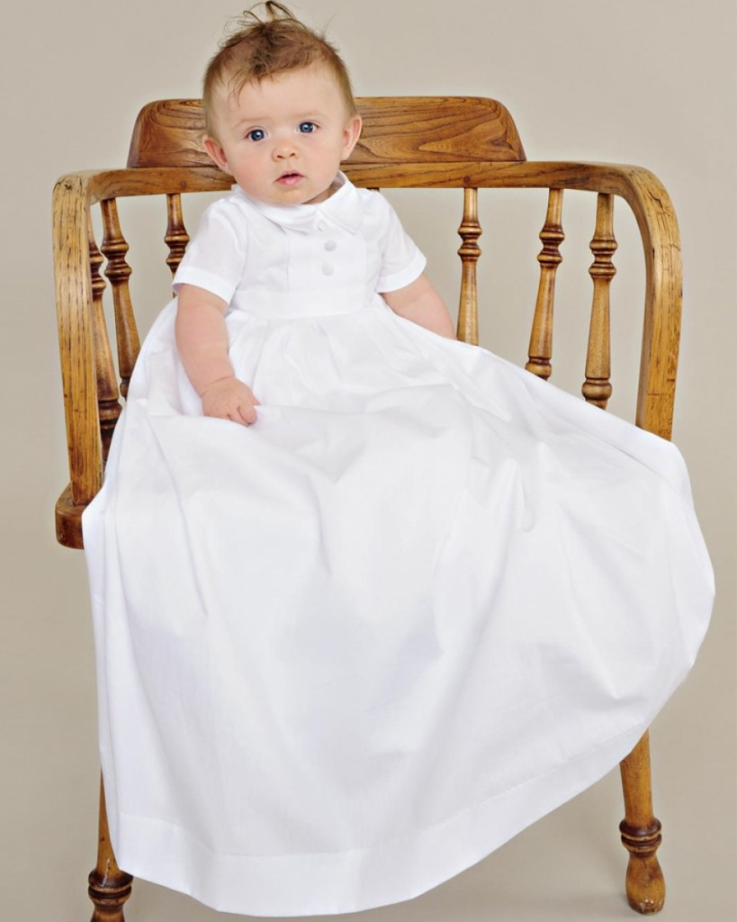 Caleb Christening Gown