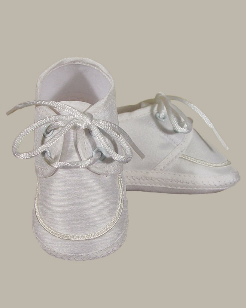 Boys Silk Dupioni Oxford Shoe