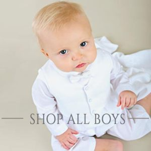 Boys Christening and Baptism Outfits