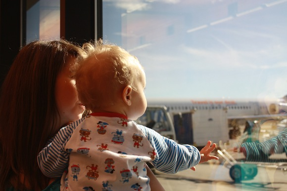 Plane Travel with Toddlers