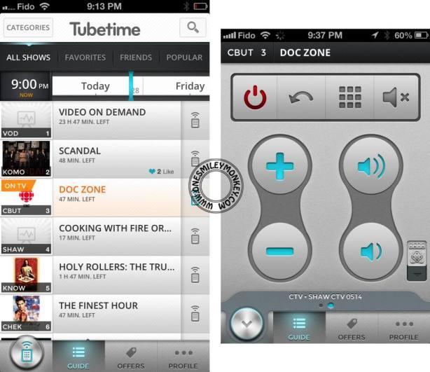 Tubetime app