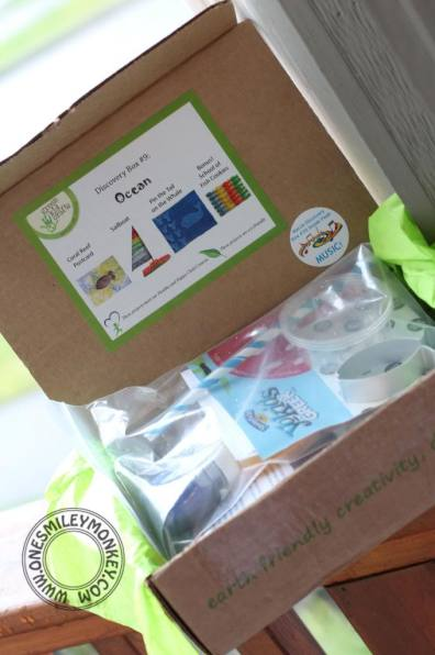 Green Kids Crafts Box Ocean