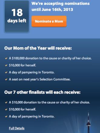 nominate a mom