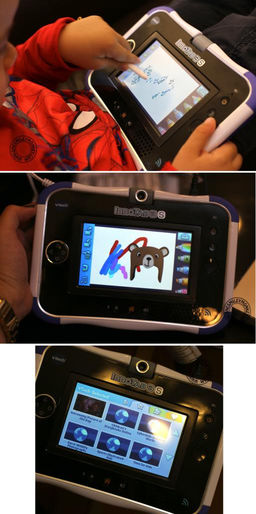 VTech InnoTab 3S Wi Fi Learning App Tablet Review Giveaway