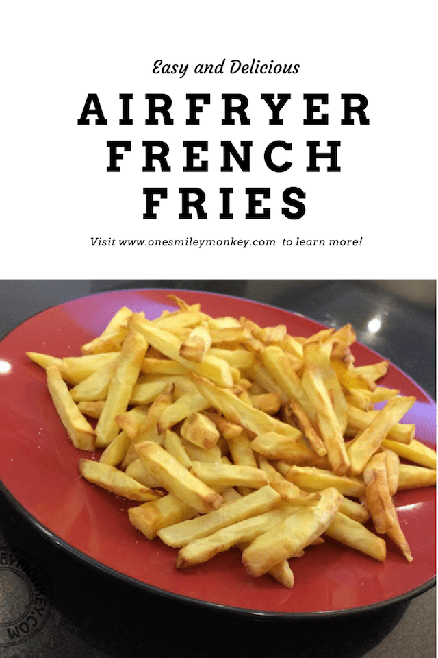 crunchy airfryer french fries